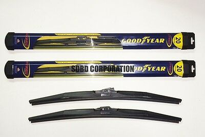 1999-2008 Ford F Series Pickup Goodyear Hybrid Style Wiper Blade Set of 2