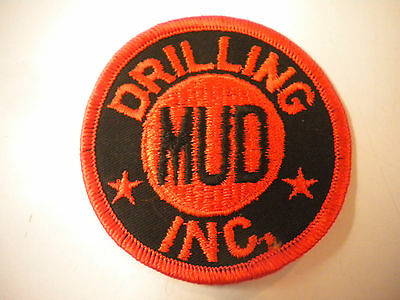 Vintage Drilling Mud Inc. Embroidery Patch