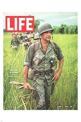 LIFE MAGAZINE COVER POSTER showing VIETNAM WAR soldiers HISTORIC 17x13inch02
