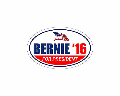 Sanders 2016 Bernie For President Bumper Sticker Trm 285 * Car Magnet