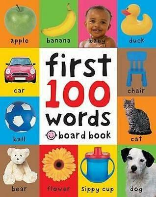 NEW First 100 Words By Roger Priddy Board Book Free Shipping
