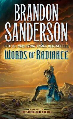 NEW Words of Radiance By Brandon Sanderson Paperback Free Shipping