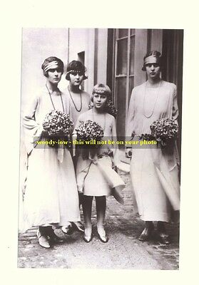 mm38 - Princesses of Greece sisters of Prince Phillip - Royalty photo 6x4