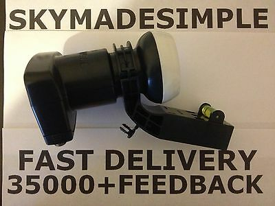 Brand New Mk4 4Way Quad Lnb For Sky+/freesat/hd/skyplus Genuine Replacement