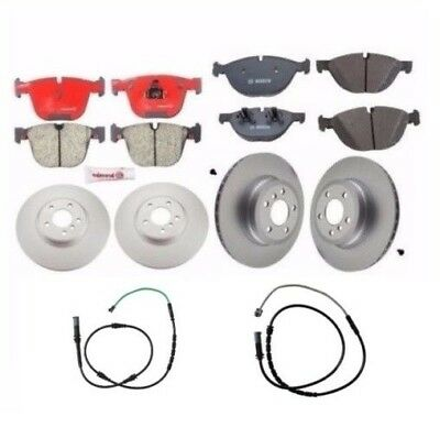 BMW E71 X6 Xdrive50i 2011-2012 Complete Brake Kit Pads With Rotors and Sensors