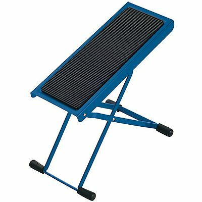 K&M 14670 Guitar Foot Stool - Blue