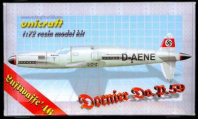 Unicraft Models 1/72 DORNIER Do.P.59 German WWII Fighter Project