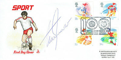 Alan SHEARER Signed FDC AFTAL COA Sport First Day Cover Football LEGEND