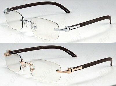 New Mens Womens 80s Old School Vintage Retro Clear Lens Frame Glasses Optical RX