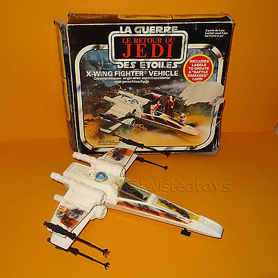 Vintage 1983 Palitoy Star Wars Return Of The Jedi X-Wing Fighter Vehicle Boxed
