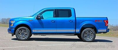 Ford F150 Rockers Side Stripes 3M Vinyl Decals Graphics Accents 2015-2019