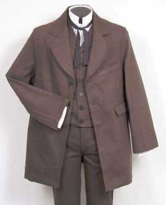 FRONTIER CLASSICS Chocolate Gunfighter Coat SASS Steampunk Dickens