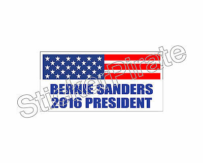 Bernie 2016 Sanders For President Bumper Sticker Trm 252 * Car Magnet