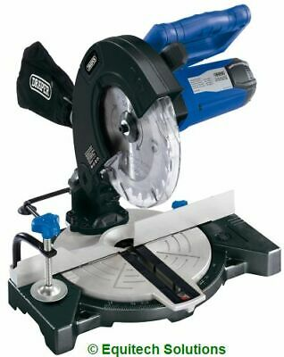 "Draper Tools 13773 Wood Band Saw 200mm 8"" Woodworking Tilt Table Mitre Two Wheel"