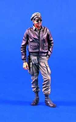 VERLINDEN 487 - USAAF FIGHTER PILOT WWII - 120mm RESIN KIT NUOVO SENZA SCATOLO