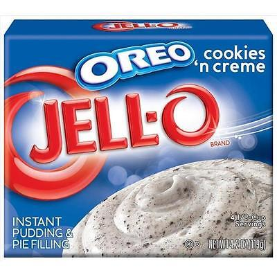 Jell-o Oreo cookies n cream Instant Pudding & Pie Filling (119g)