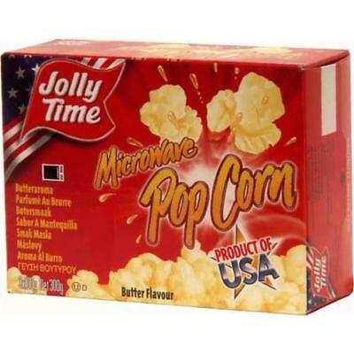 Jolly Time Microware Popcorn Butter Flavor (3x100g)