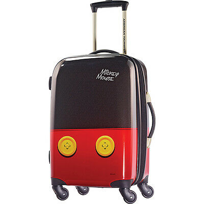 American Tourister Disney Mickey Mouse Hardside Spinner Hardside Carry-On NEW