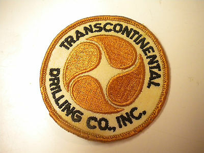 Vintage Transcontinental Drilling Co., Inc. Embroidery Patch