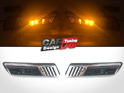 Smoke LED Side Marker Light Fits BMW E30 E32 E34 E36(91-96)