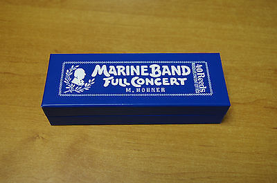 Harmonica Hohner Marine Band Full Concert Do/C  anches à l'octave 20 trous neuf