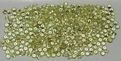 2mm Natural Brazil Chrysoberyl Brilliant Round Cut