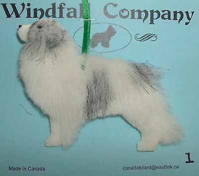 Colored Great Pyrenees Pyr Dog Soft Plush Christmas Canine Ornament # 1 by WC