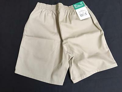 Classroom NEW boys girls shorts size 10 husky khaki NWT school uniform unisex