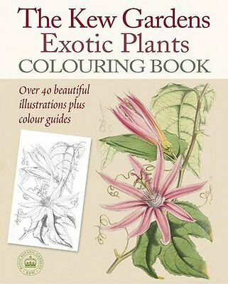 The Kew Gardens Exotic Plantas Libro Para Colorear ( De Bolsillo) 9781784045654