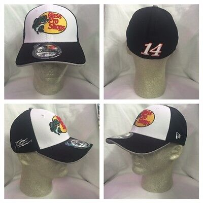 ae35f0cc07590 NASCAR 16 Tony Stewart  14 Official New Era Bass Pro Shops Pit Crew Driver  Hat