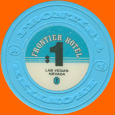 Frontier $1 1980 Obsolete Casino House Chip Las Vegas Nv - Free Shipping