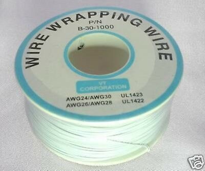 Prototype Wire wrap cable 30AWG 30# 300M White Xbox WII