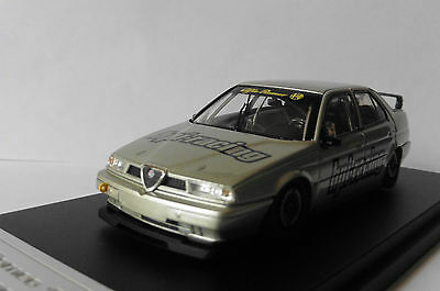 Alfa Romeo 155 Ts Silverstone Silver Hpi Racing 8163 1/43 Silber Argent Argente