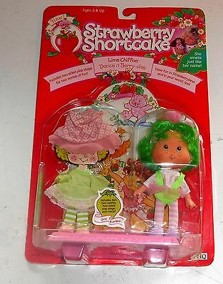 1991 Vintage Strawberry Shortcake - LIME CHIFFON - Scented Doll - Boxed MIB MOC