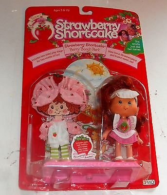 1991 Vintage Strawberry Shortcake - STRAWBERRY - Scented Doll - Boxed MIB MOC