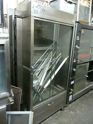 Chicken Rotisserie N/ 7 Gas, Am Range,7 Spits,complete,2 Doors, 900 Items  E Bay