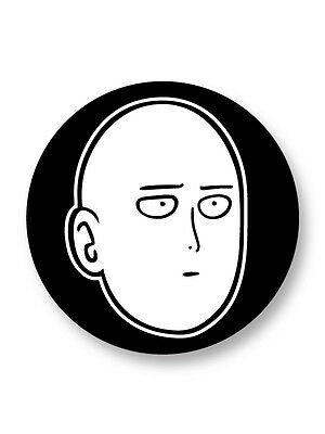 "Pin Button Badge Ø25mm 1"" One Punch Man Manga Japan Saitama Oppai"