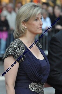 """mm694 - Sophie Countess of Wessex at Royal Wedding Stockholm 2010 - photo 6x4"""""""