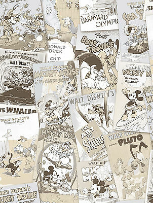 Disney Tapete Wallpaper Mickey Mouse Comic Rasch DY3012-3 Donald Strip Cover