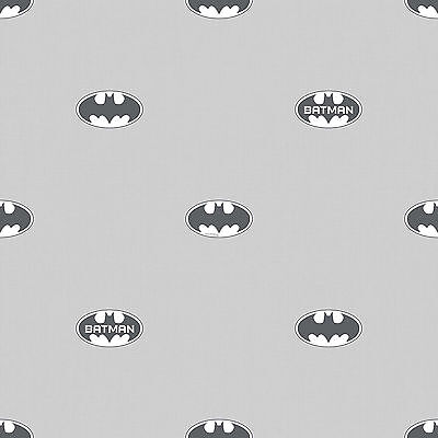 DC Tapete Wallpaper Batman Comic Rasch BT9004-1 Logo