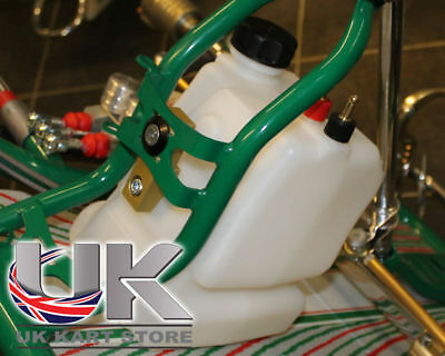 Senzo Fuel Tank Conversion Bracket & KG 3.5L Fuel Tank UK KART STORE