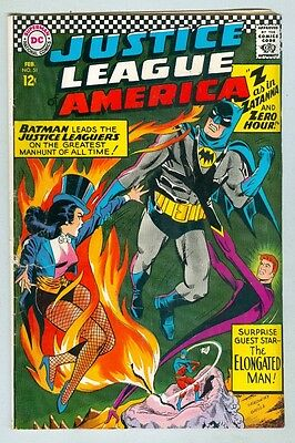 Justice League of America #51 February 1967 G/VG Zatanna