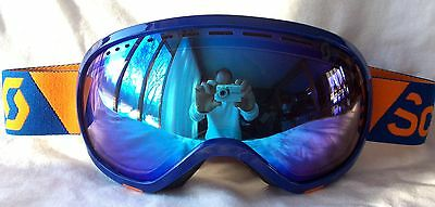 dcf25e28bb41 NEW  120 Scott Mens Off Grid Blue Orange Snow Winter Ski goggles Smith uvex  spy