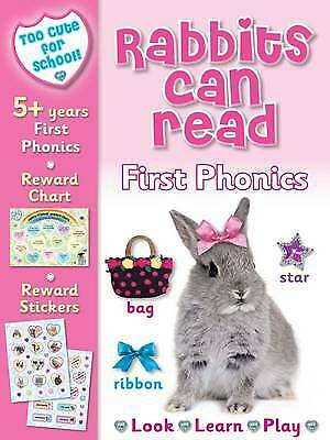Too Cute for School - Rabbits Can Read: First Ph, Nina Filipek, New