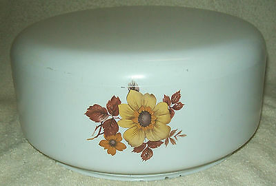 Vintage White Glass Floral Flower Ceiling Light Fixture Globe Cover Shade