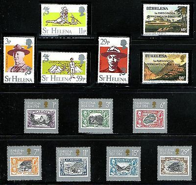 St.HELENA Small MNH Lot from 1980's  MNH/UM/**