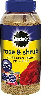 Miracle-Gro Slow Continuous Release Rose And Shrub Plant Food, 1Kg Shaker Jar