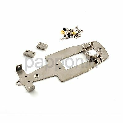 Sloting Plus SP400002 F1 Aluminium Chassis for All Slot Cars bodies - Complete