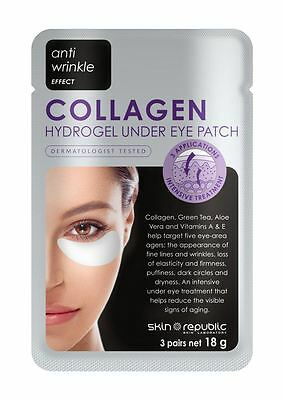 Skin Republic Collagen Hydrogel Under Eye Patch 3 Pairs