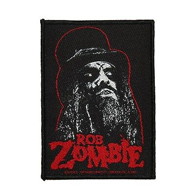 """Ringmaster """"Rob Zombie"""" Spookshow Deluxe Art Metal Apparel Sew On Applique Patch"""